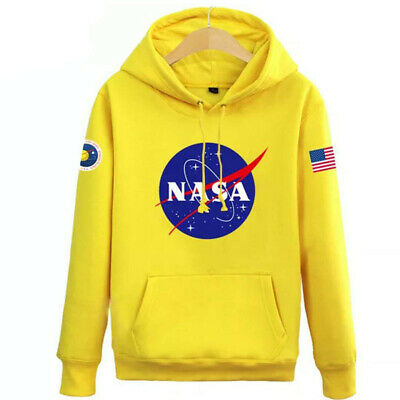 Hommes Sweat à capuche Nasa Space Pull-over Amoureux Manteau Pull Sweat-shirt 4