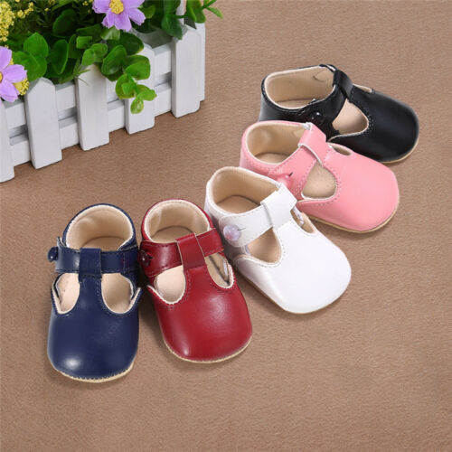 Soft Infant Baby Newborn Sole Princess Shoes Girl Kid Toddler Bow Crib Prewalker