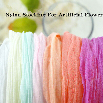 5Pcs 2.3M Nylon Stocking For Making Artificial Mesh Flower Arrangement Stamen 9