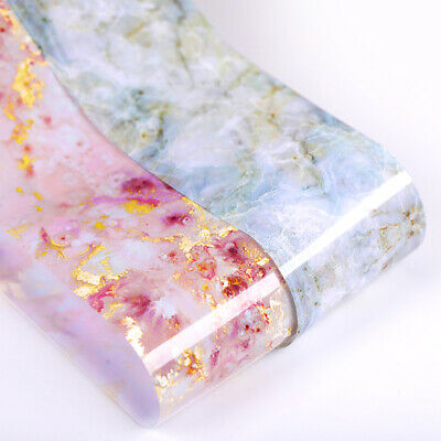 Candy Marble Nail Foils Glitter Foil Nail Art Transfer Stickers Decals Tips DIY 8