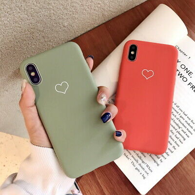 For iPhone XS Max XR X 8 7 6s+ Cute Pattern Slim Soft Silicone Rubber Case Cover 3