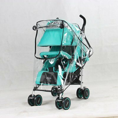 Buggy Rain Cover Universal Raincover For Baby Pushchair Stroller Pram Waterproof 10