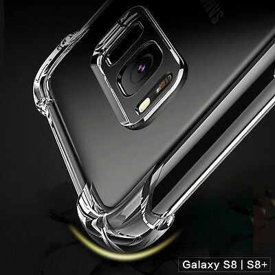 Hybrid Shockproof Soft Clear Case For Samsung Galaxy S8 Plus Phone Cover S7 Edge