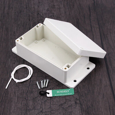 Project Electronic Instrument Case Plastic Waterproof ABS Cover Enclosure Box UK 3