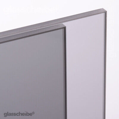 ESG Glasboden nach Maß Grauglas 4mm Zuschnitt Glasplatte Glasscheibe Wunschmaß
