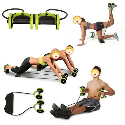 Abdominal Muscle Power Roll Trainer Waist Exerciser Core Training Wheel Fitness