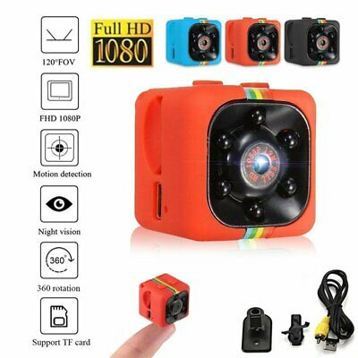 SQ11 Full HD 1080P Mini Car Hidden DV DVR Camera Spy Dash Cam IR Night Vision UK 2