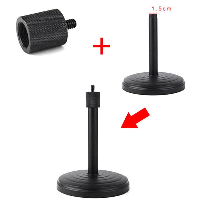 """Neuer Gewindeadapter-Mikrofonständer 5//8 /""""27 Buchse auf 1//4/"""" 20-Kamerastativ 4H"""