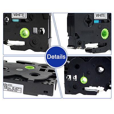 TZe-231 TZ-231 P-touch Kompatibel für Brother Beschriftungsbänder 12mm 2