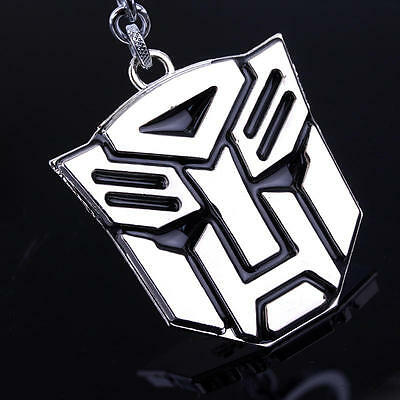 Metal Transformers Autobot & Decepticon Symbol Keychain [ONE PAIR] cosplay 6