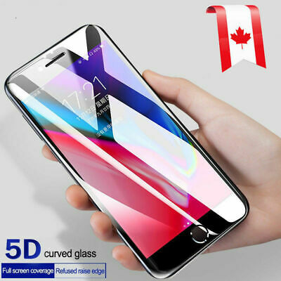 For iPhone 11 Pro Max XR X XS Max 8 7 Plus Tempered Glass Clear Screen Protector 4