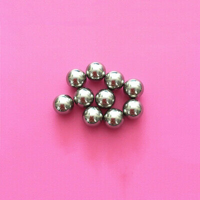 1-10mm 304 Stainless Steel Ball Solid Bearings Ball Bike Rolling Roller Beads 3