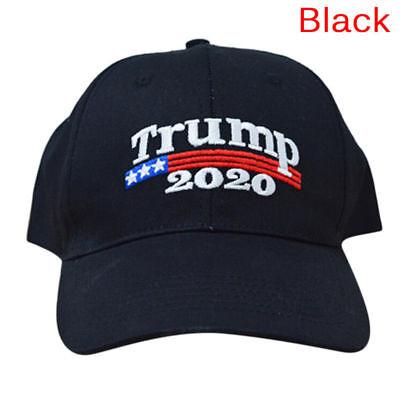 Donald Trump 2020 Keep Make America Great Again Cap Embroidered Hat Black US RF 2