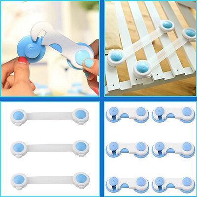 Toddler Baby Kids Children Drawer Cabinet Cupboard Door Fridge Safety Locks Top 5