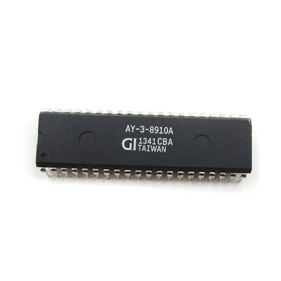 1PCS AY-3-8910A Programmable Sound Generator IC DIP40 NEUE GUTE QUALITÄT 2