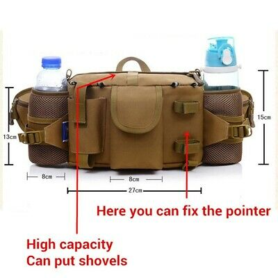 Multi-purpose Finds Pouch Shoulder Bag Waterproof Metal Detector Waist Bag 6