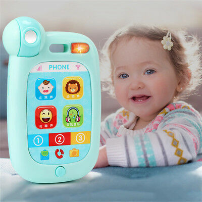 Kids Baby Simulator Music Phone Touch Screen Educational Learning XMAS Toys Gift