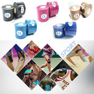 5M Sport Body Knee Rocktape Athletic Muscle Tape Physio Kinesiology Strapping UK 7