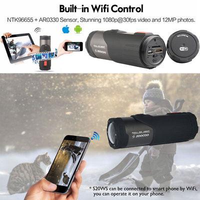 WIFI HD 1080P Sports Action Camera Bike Helmet Waterproof For Shotgun Camcorder 7