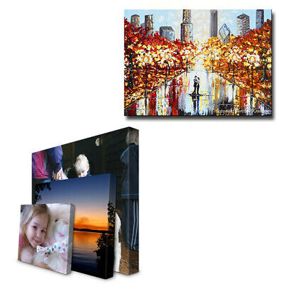Personalised Canvas Print. Your Photo/Image Printed & Box Framed 8