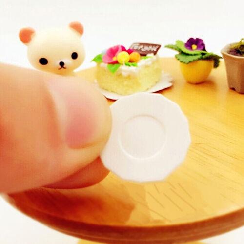 33pcs/Set Dollhouse Miniature Tableware Plastic Plate Dishes Set Mini Food 2017 9