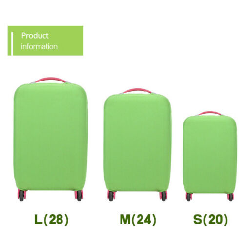 NEW Elastic Luggage Suitcase Dust Cover Dustproof Protector Anti Scratch Travel 3