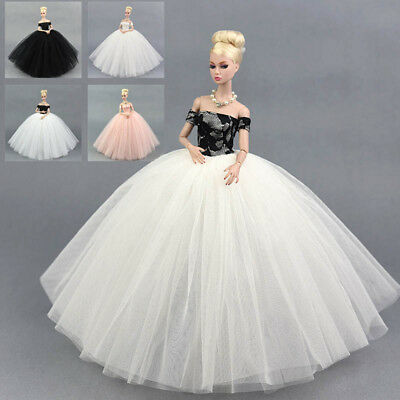 """Doll Dress Costume Elegant Lady Wedding Dress For 11.5"""" Doll Clothes Outfits Toy 3"""