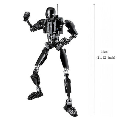 Star Wars Buildable Action Figure Darth Vader Stormtrooper Chewbacca Toy For Kid 9