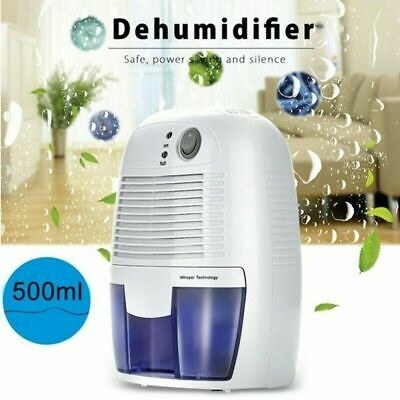500ML Mini Air Dehumidifier Purifier Damp Moisture Dryer Home Bathroom  C 5