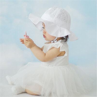 efae8fc03 TODDLER INFANT KIDS Sun Cap Summer Outdoor Baby Girl Boy Sun Beach Cotton  Hats