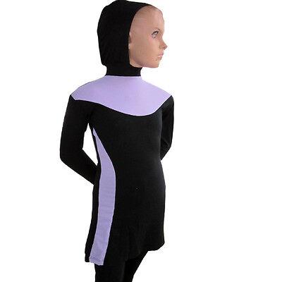 Muslim Kids Girls Full Cover Modest Swimsuit Beachwear Islamic