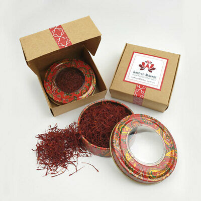 10 grams - Pure Finest Premium Saffron Threads Highest Grade All Red A+++ 2