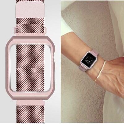 For Apple Watch Series 3/2/1 Milanese Stainless Steel Watch Band Strap 38mm/42mm 12