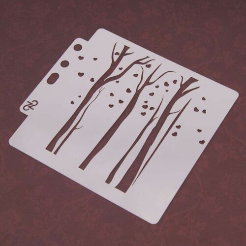 DIY Layering Stencils Template For Walls Painting Scrapbooking Stamping Craft 7