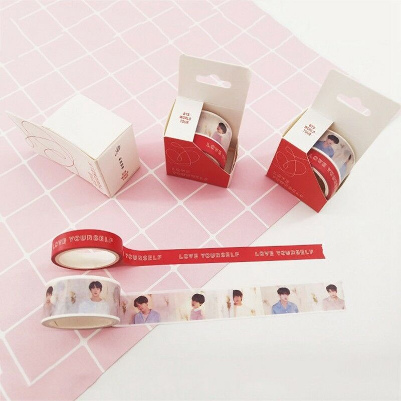 KPOP BTS LOVE YOURSELF 结 Answer Washi Masking Tape Album Diary Scrapbook DIY New