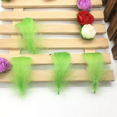 100 Pcs/Lot Natural 4-7cm/1-2 Inch Small Floating Goose Feather for Diy Carnival 7