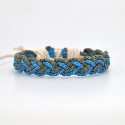 Fashion Girl's Hemp Rope Weave Bracelet Simple Accessories Jewelry Gift 3