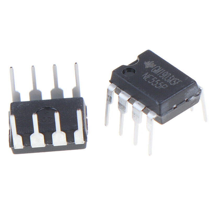 10PCS NE555P DIP-8 original IC time base circuit single high precision timer G3 6