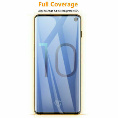 Samsung Galaxy S10 S10e S10 Plus Tempered Glass Screen Protector Film 5D Curve 3
