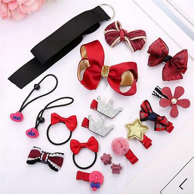 Baby Girls Flower Hairband Soft Elastic Headband Gifts Hair Pin Accessories Band 7