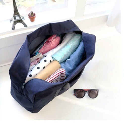Foldable Large Duffel Bag Luggage Storage Waterproof Travel Pouch Tote Bag Case 7