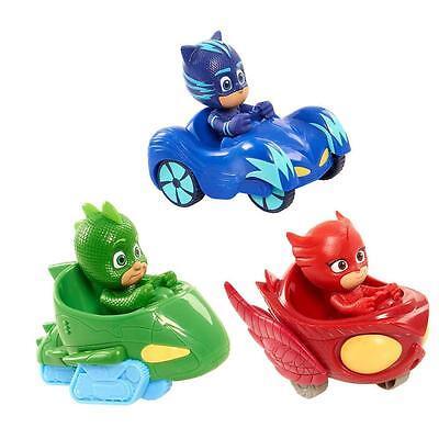 3pcs Pj Masks Characters Catboy Owlette Gekko Action Figure Kids Toy UK STOCK 6