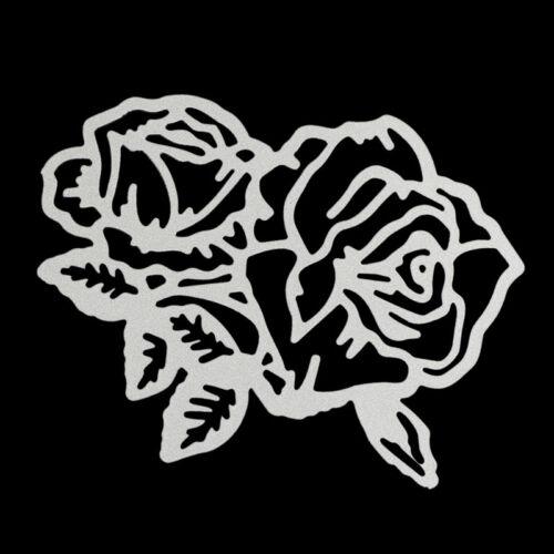 rose flower metal cutting dies stencil scrapbook album paper embossing craf S* 8
