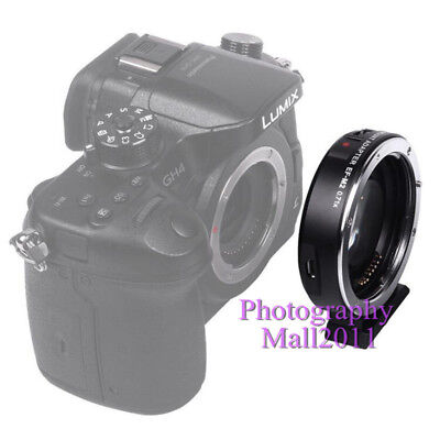 Viltrox EF-M2 II Auto Focus Adapter Speed Booster for Canon EF Lens to MFT M4/3 9