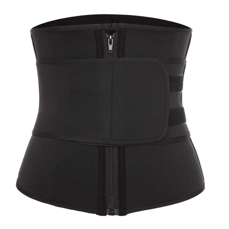 Women Waist Trainer Neoprene Belt Hot Sauna Sweat Body Shaper Tummy Control Slim 12