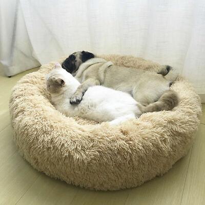 Große Hundebett Haustier Hund Katze Bett Nest Kissen Weiches Waschbar Flauschige 8