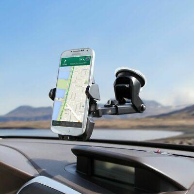 "360° Universal KFZ Halterung Smartphone Handy Auto LKW PKW Halter drehbar 6"" DE 5"