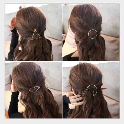 Fashion Women Girls Gold Silver Animal Flower Hairpin Hair Clip Hair Accessories 2