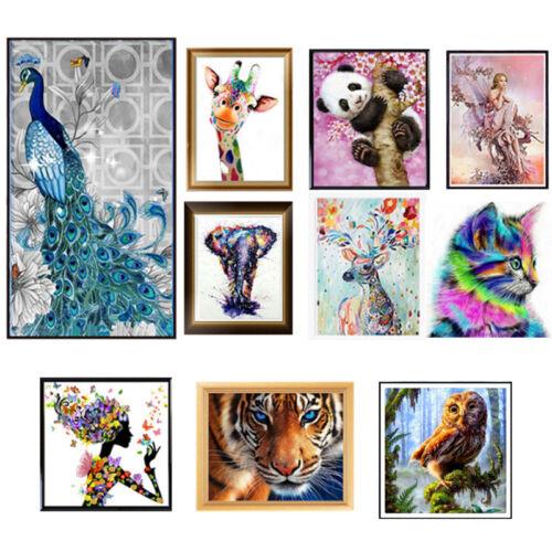 Animal DIY 5D Diamond Painting Embroidery Cross Craft Stitch Art Kit Home Decor 8