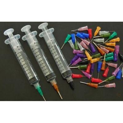 35 Stück Dosiernadel Set für Dosierspritze Löten Lötpaste Flüssigkeiten